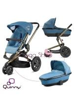 Quinny Buzz 3 - wielofunkcyjny wózek  - Blue Charm 2013